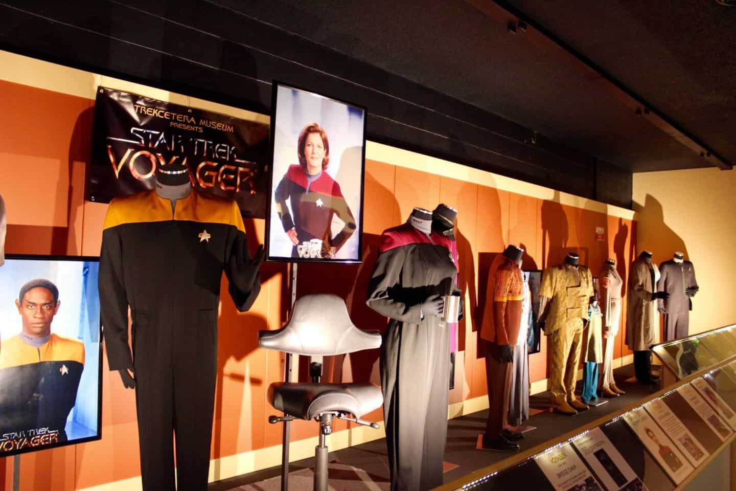 Costumes from Star Trek Voyageur