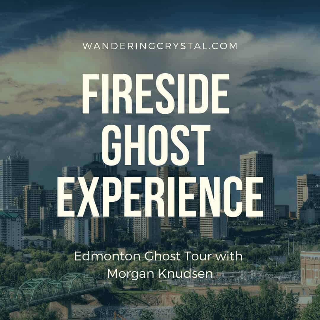 Edmonton Skyline, Edmonton, Edmonton Ghost Tour, Ghost Tour, Spooky, Ghost, Haunted, Fireside Ghost Experience with Morgan Knudsen in Edmonton Alberta