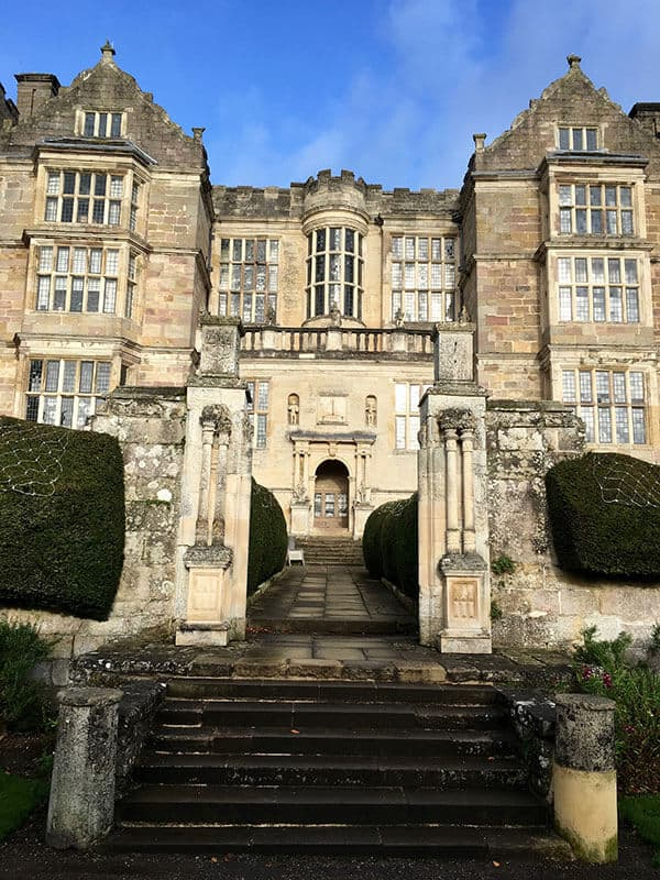 Exterior of Fountains Hall in the day light