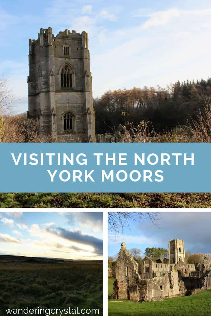North York Moors in Autumn sunset &  Ruins of the Fountains Abbey