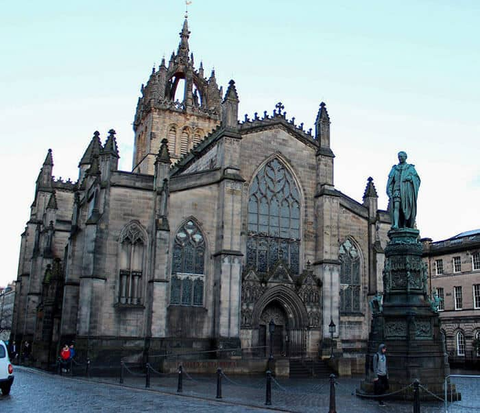 St. Giles Cathedral on Royal Mile