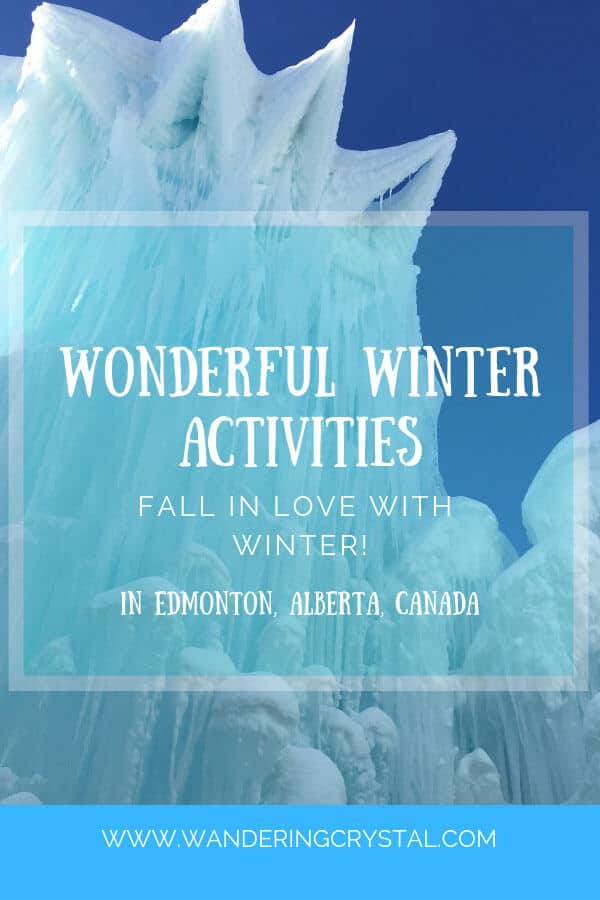16 fun and exciting activities to do in Edmonton Alberta Canada this winter including awesome hikes, seeing the Northern Lights and wild life sightings!