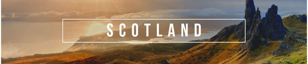 Blog posts for Scotland - Highland landscape during sunset