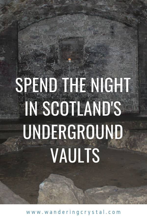 Overnight in the Edinburgh Vaults - Spending the night in the spooky haunted vaults under the streets of Edinburgh