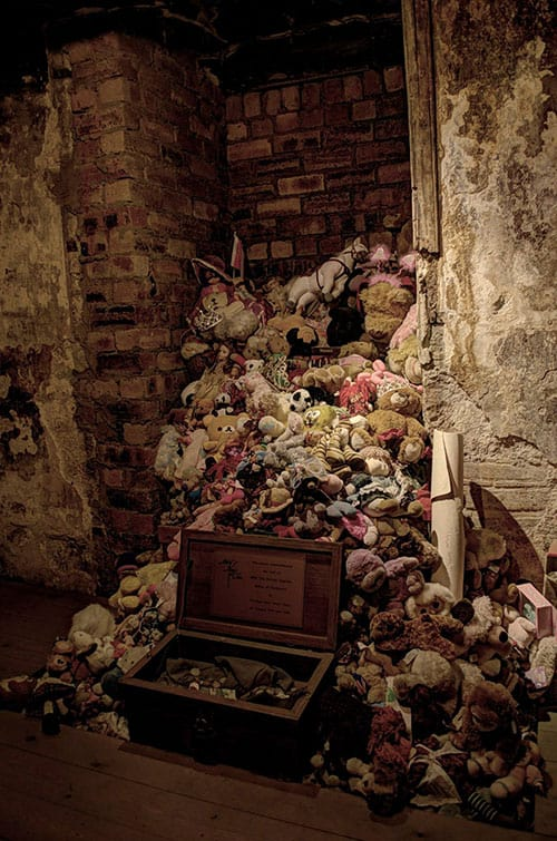 Abandoned Annie's Tower of Toys in Mary King's Close