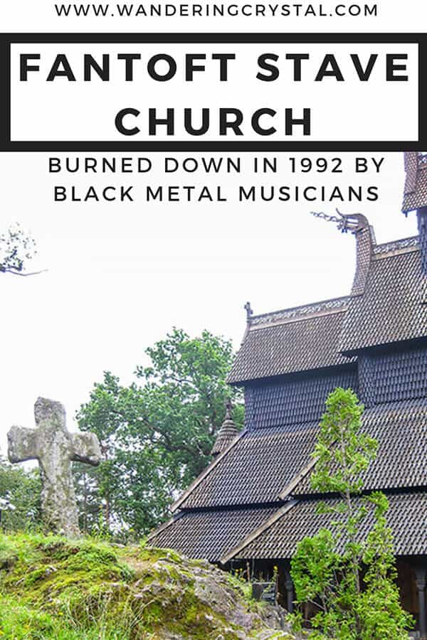 Fantoft Stave Church in Bergen Norway was burned down in 1992 by black metal musicians. #church #burnings #norway #norwegian #blackmetal #musichistory