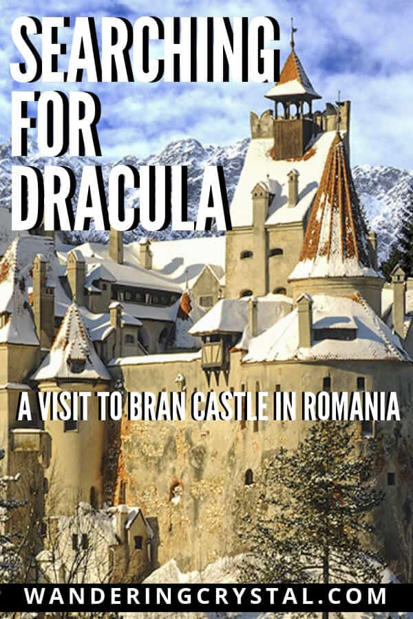 Search for Dracula - A Visit to Bran Castle in Romania