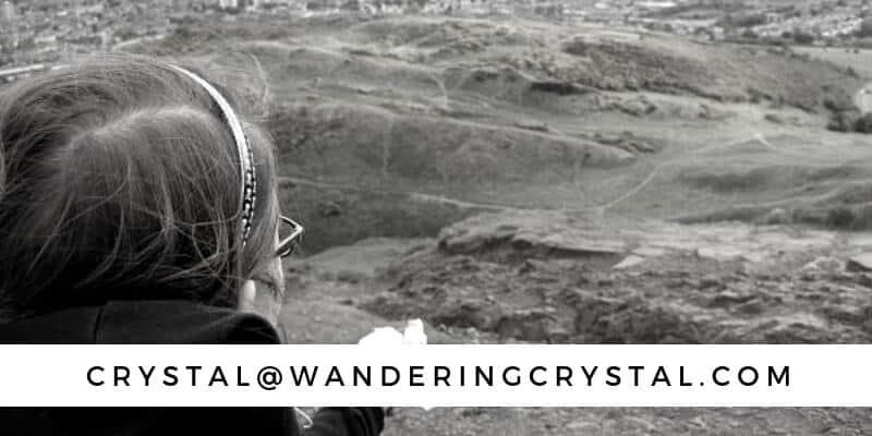 Contact me: crystal(at)wanderingcrystal(.com)