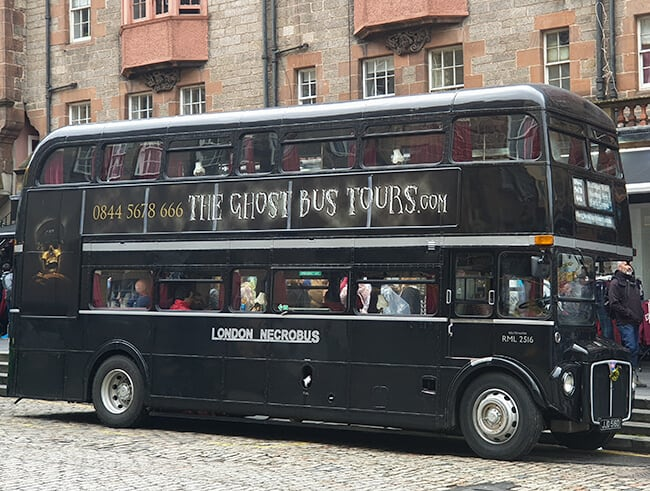 The Edinburgh Ghost Bus - A Spooky and Scary Ghost Tour Bus