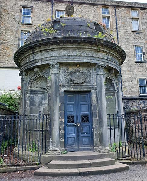 Haunted and Scary Black Mausoleum in Edinburgh Greyfriars Kirkyard