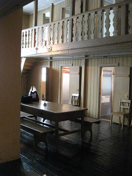 Inside the Bergen Leprosy Museum