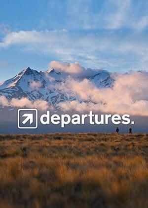 Departures TV Poster