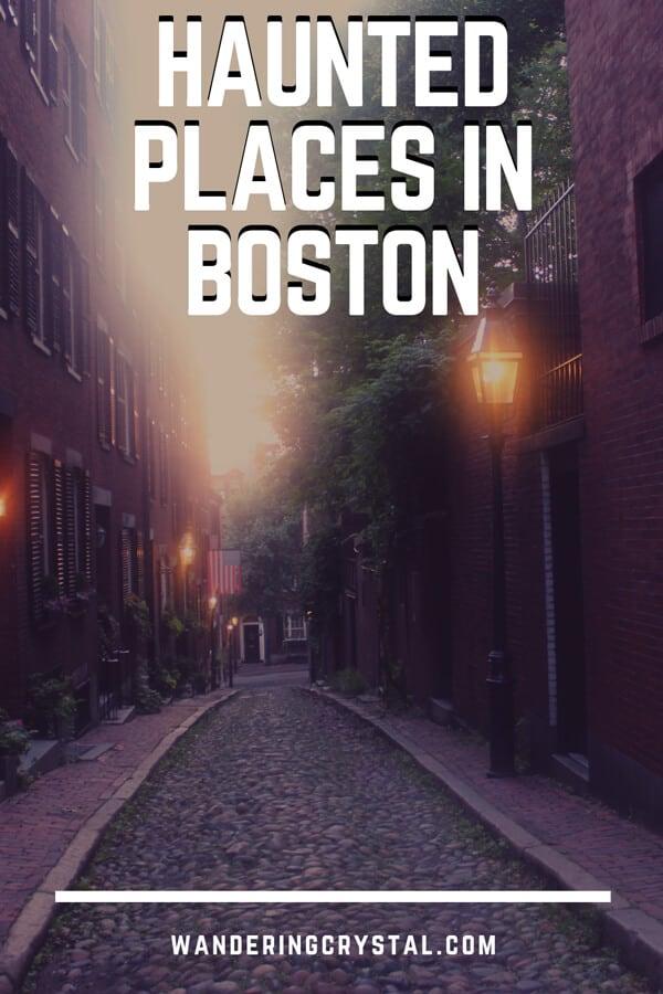 Boston - Spooky Destination Guide Pin