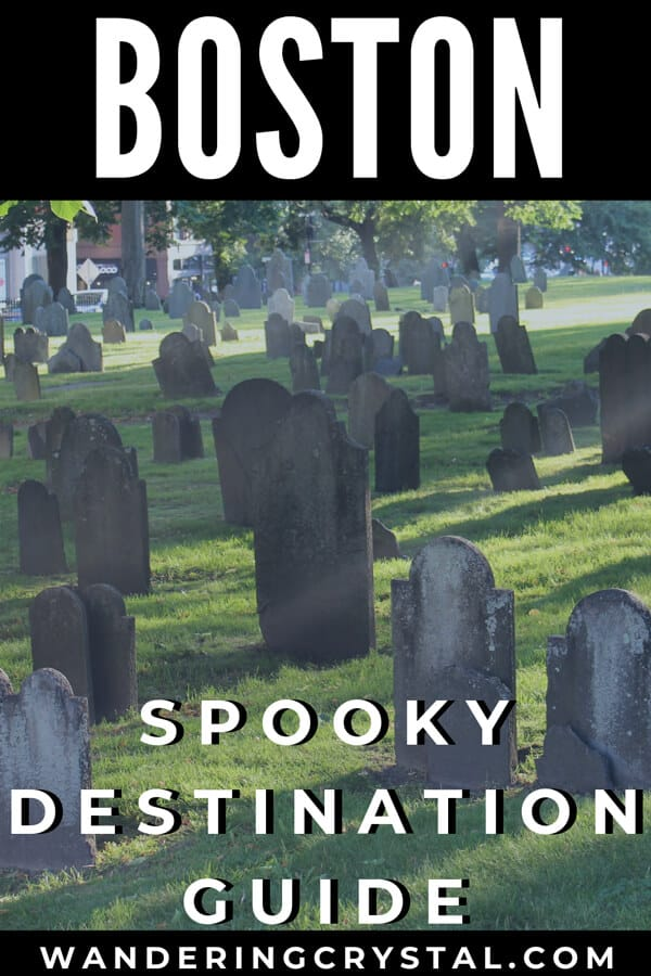 Boston - Spooky Destination Guide Pin