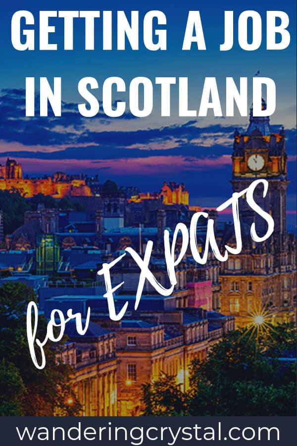Getting a job in Scotland for Expats