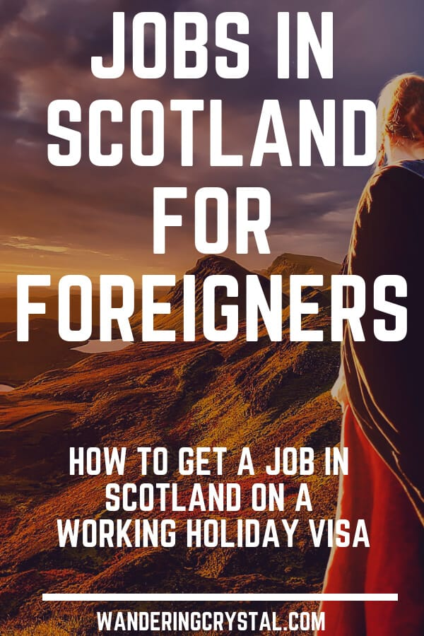 Jobs in Scotland for Foreigners