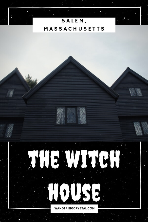 Visiting the Witch House in Salem Massachusetts