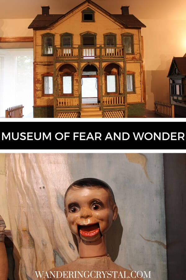 Museum of Fear and Wonder Pin