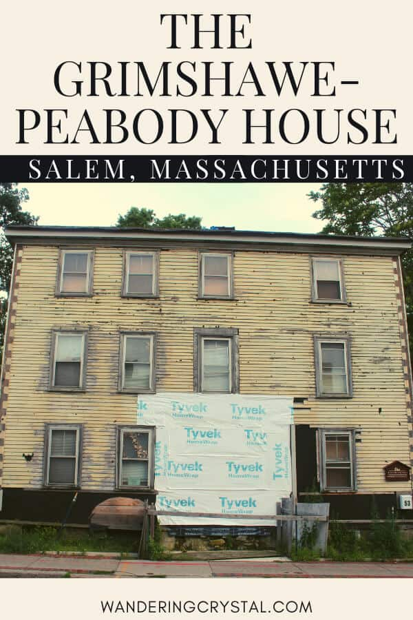 The Grimshaw-Peabody House in Salem Massachusetts #salem #massachusetts #abandoned #urbex #USA