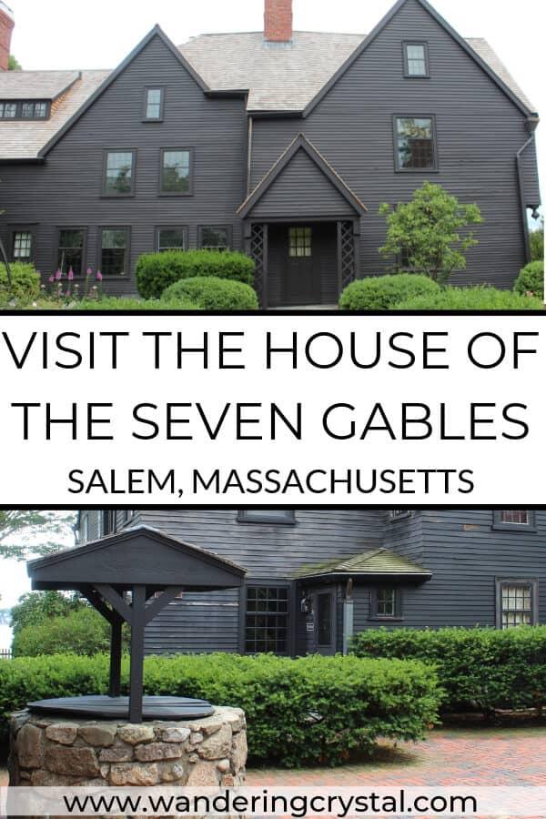 The House of the Seven Gables in Salem Massachusetts