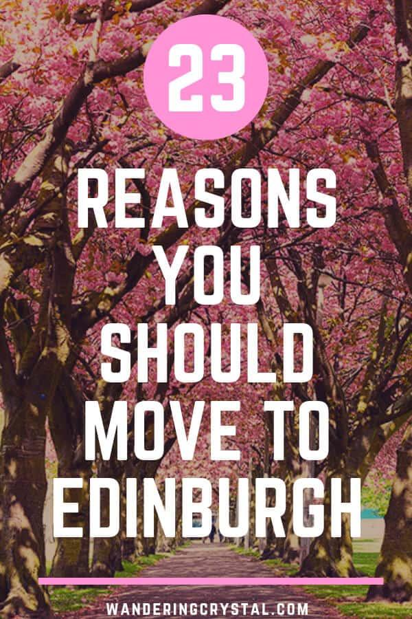 23 Reasons You Should Move to Edinburgh #Edinburgh #WorkingAbroad #LivingAbroad #Expat #Scotland #Schottland #Escocia