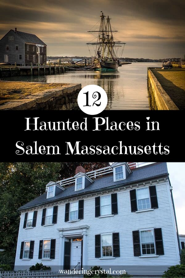 Haunted Places in Salem Massachusetts USA - Haunted Things to Do in Salem MA #haunted #ghosts #salem #witchcity #witches