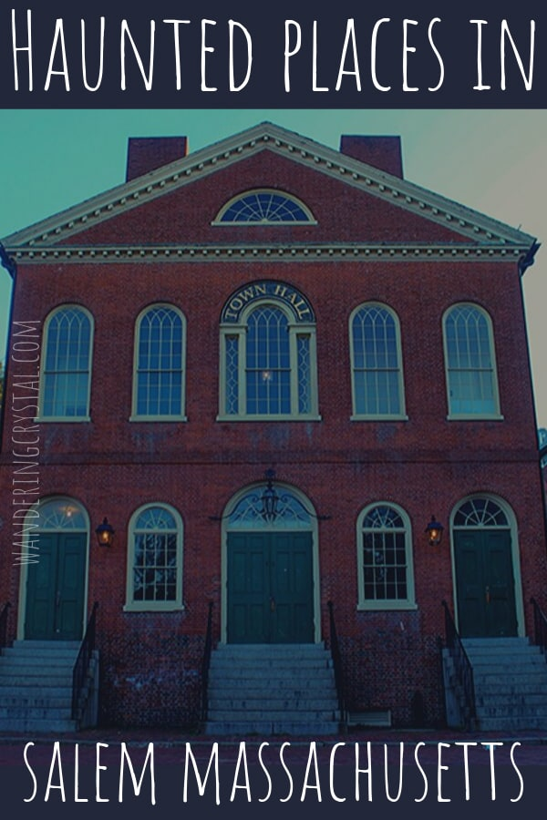 Haunted Places in Salem Massachusetts USA #haunted #ghosts #salem #witchcity #witches
