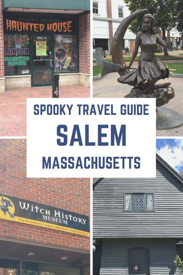 Spooky Travel Guide - Salem Massachusetts. Visit the witch city and see all of the Salem Witch Trial locations and haunted sites. #Salem #Thingstodo #Spooky #Travelguide