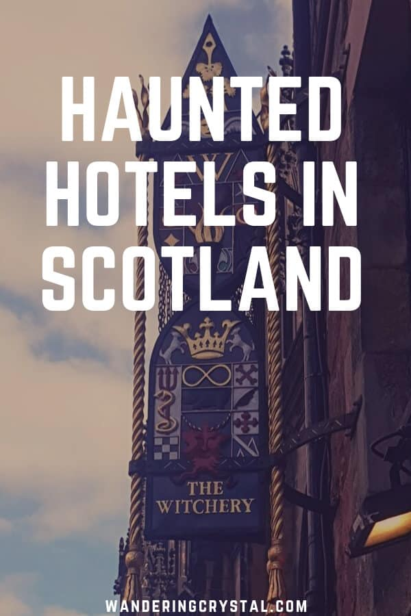 Haunted Hotels in Scotland - Spend the night in a haunted hotel in Edinburgh, Glasgow or the Scottish Highlands! #Scotland #Schottland #Escocia #Haunted #Hauntedhotel