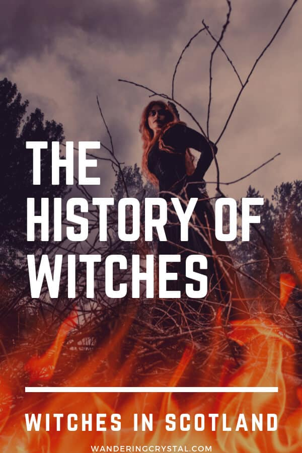 The History of Witches - Witches in Scotland -  Sites Around Scotland from The Great Scottish Witch Hunt  #witches #scotland
