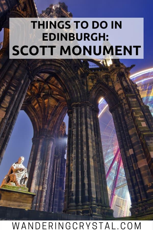 Things to do in Edinburgh - Scott Monument