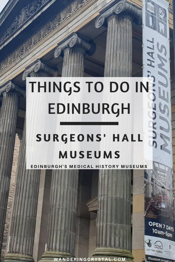 Things to do in Edinburgh - Visit the Surgeons Hall Museum and witness Edinburgh Scotlands Medical History
