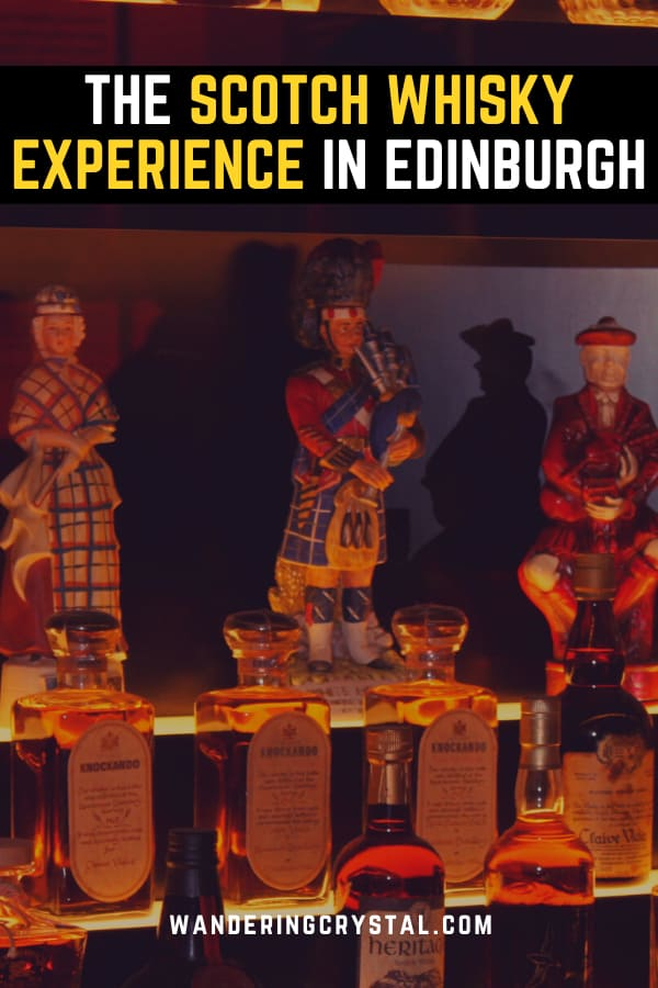 The Scotch Whisky Experience in Edinburgh Scotland - Enjoy a taste test of whisky inside the worlds largest Scotch Whisky Collection #Scotch #Whisky #Edinburgh #Tastetest #Scotland