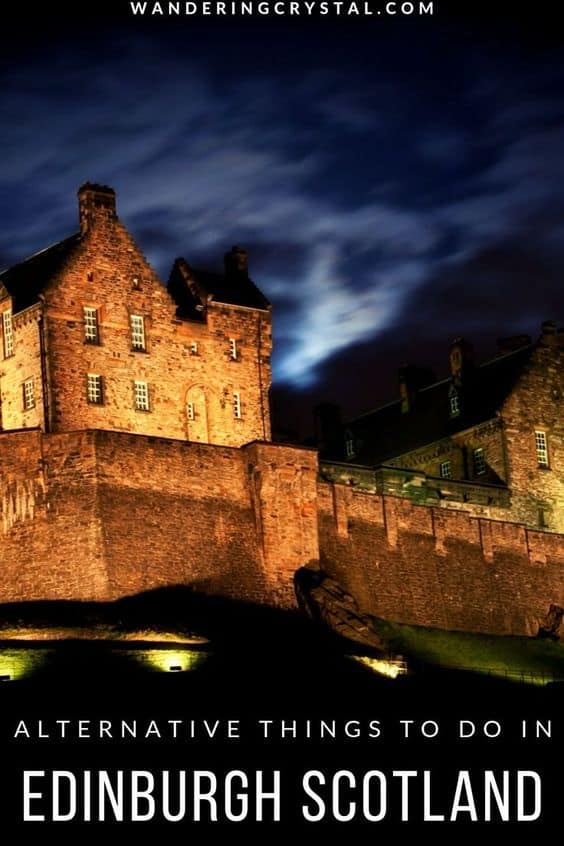 Explore the Dark Travels and Spooky Sites in Edinburgh Scotland
