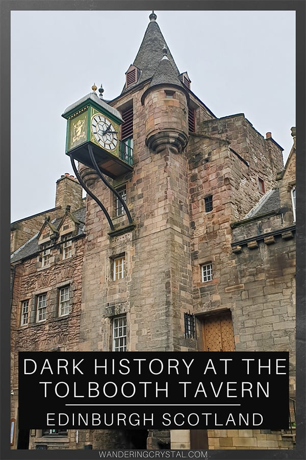 The Haunted History of the Tolbooth Tavern in Edinburgh Scotland, Haunted History, Haunted Pubs in Edinburgh, Scottish Pubs, Witch History in Edinburgh, Canongate Tolbooth, Dark History in Edinburgh Scotland #Edinburgh #Scotland #Haunted #Tavern