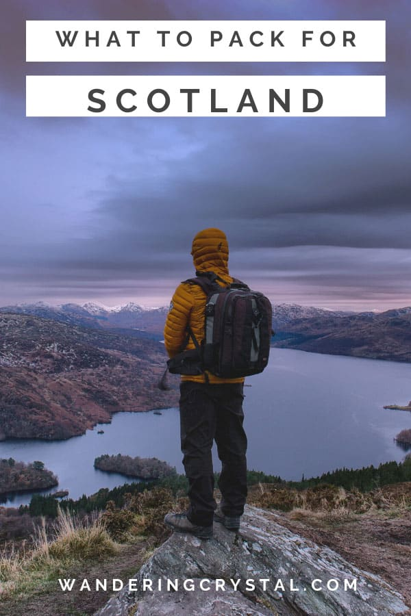 What to pack for Scotland - 13 Essentials for Moving Abroad