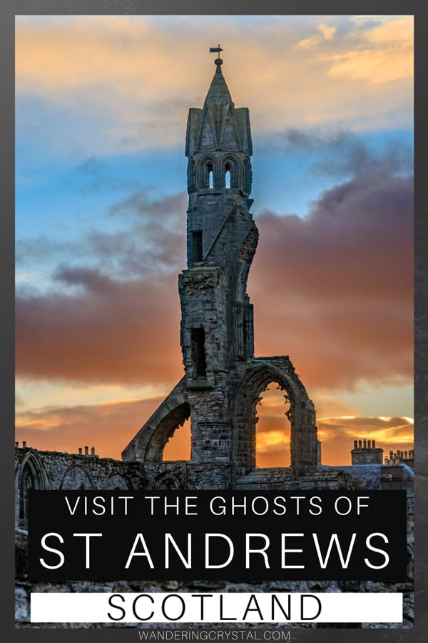 Visit the Ghosts of St Andrews in Scotland