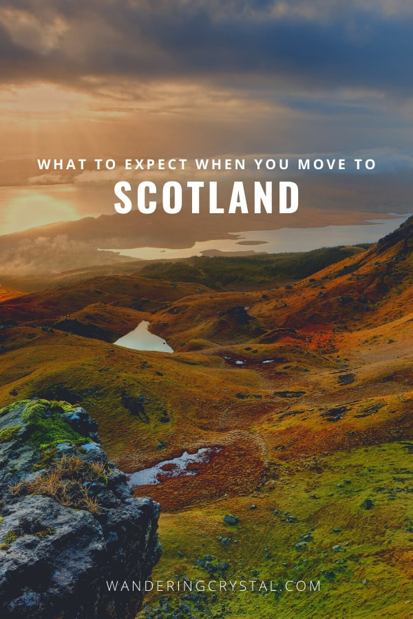 What to expect when you move to Scotland