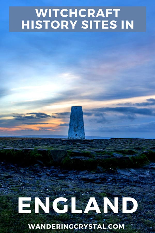 Witchcraft History Sites in England