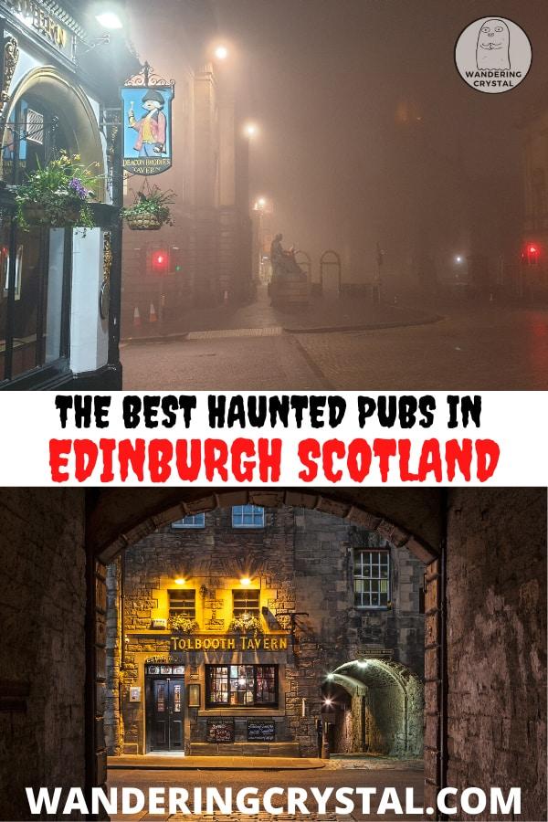 The Best Haunted Pubs in Edinburgh