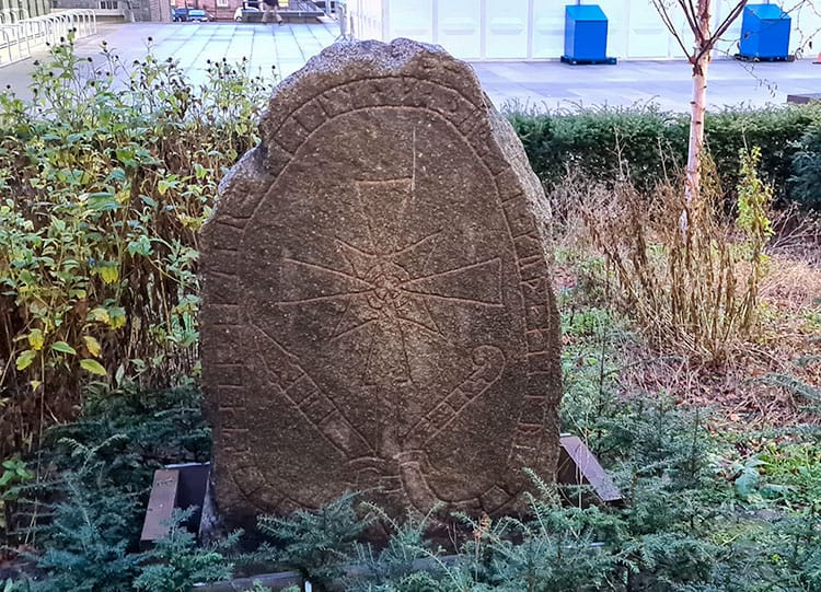 Gravestone with Swedish Carvings is an unusual things to do in Edinburgh