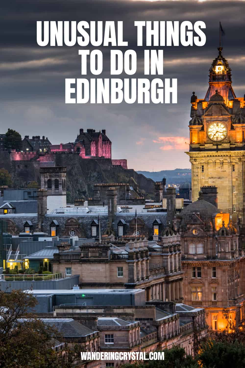 Unusual Things to do in Edinburgh Scotland