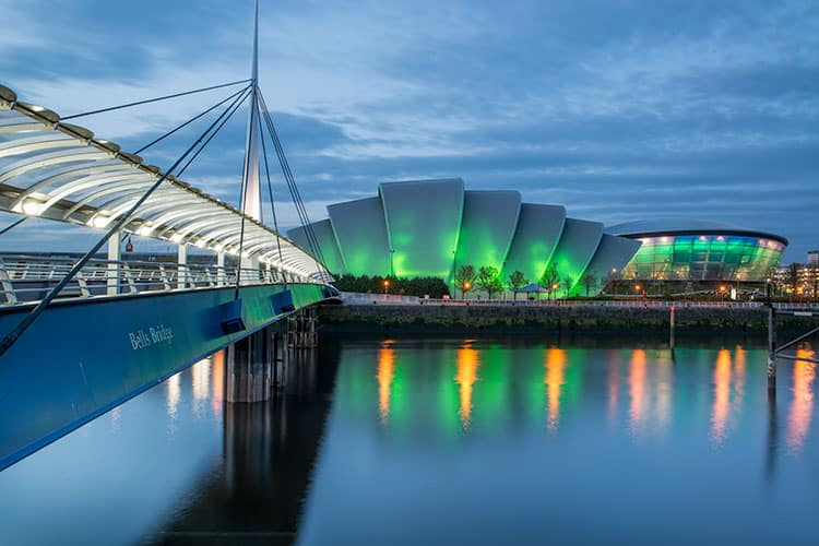 Glasgow Hydro is one of the reasons to move to Glasgow Scotland