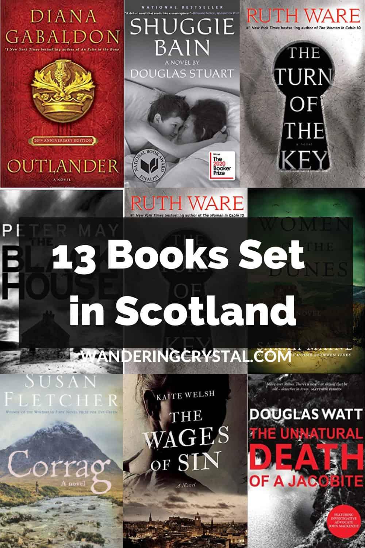 13 Books Set in Scotland