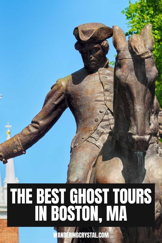 Best Ghost Tours in Boston MA