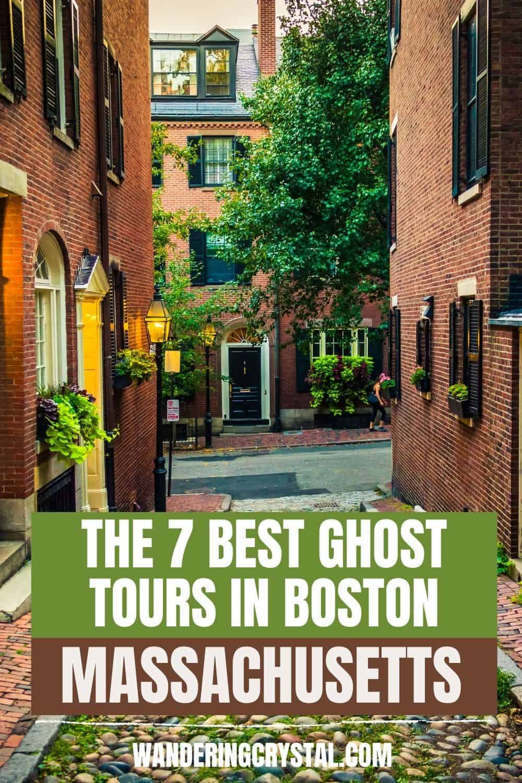 Best Ghost Tours in Boston