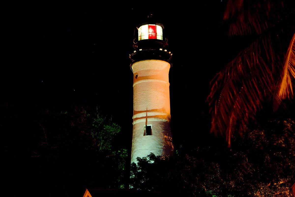 Haunted Key West Lighthouse in Key West Florida