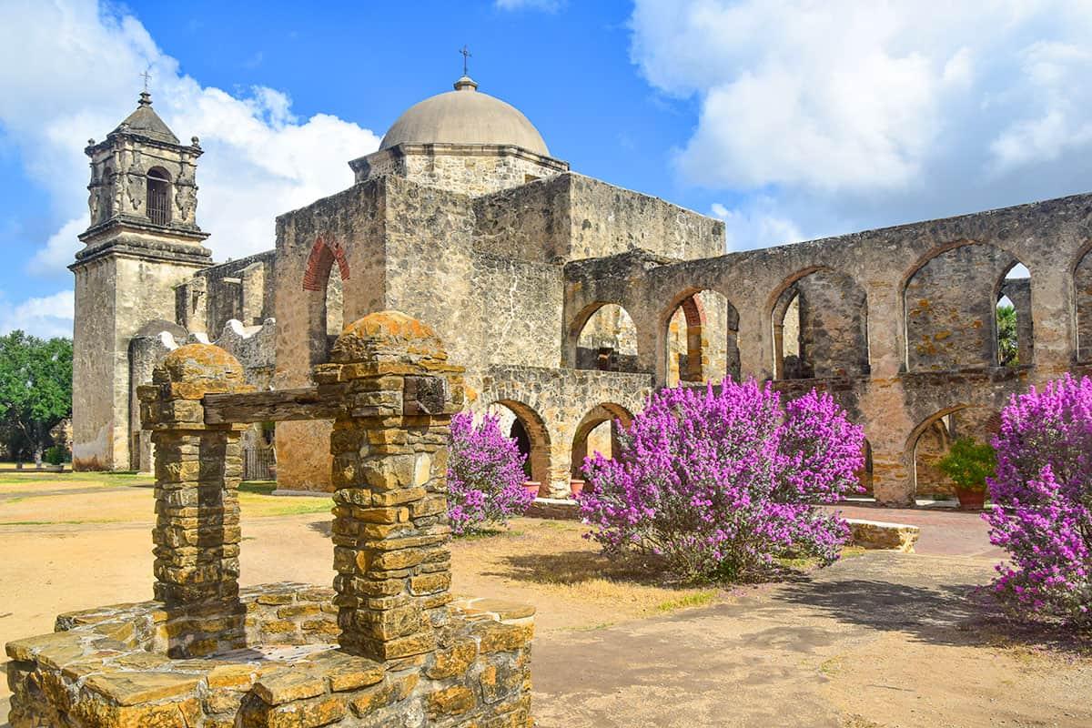 The very haunted Alamo in San Antonio, Texas