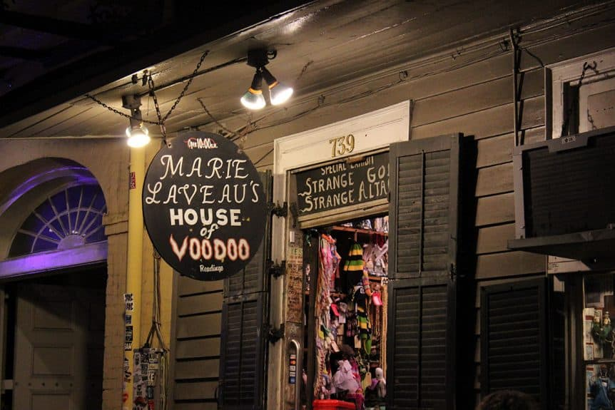 Marie Laveau's House of Voodoo in New Orleans - New Orleans Voodoo Tour